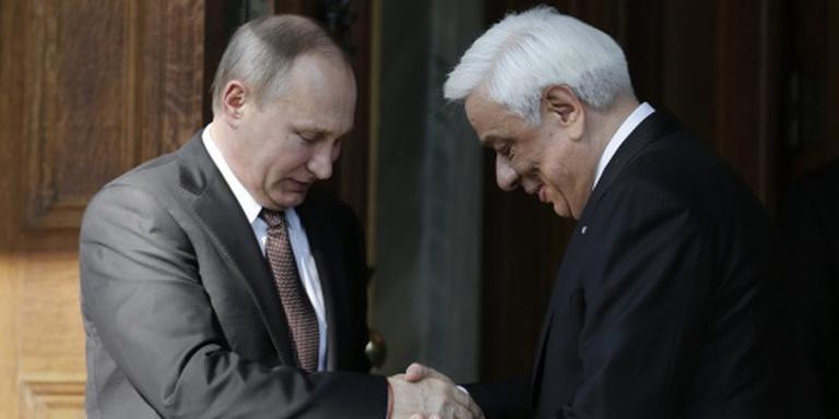 Poetin begint bezoek aan Griekenland