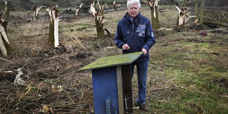 Martin Duijvesteijn uit Follega heeft plannen voor een park met twintig recreatie-arken. FOTO ALEX DE HAAN