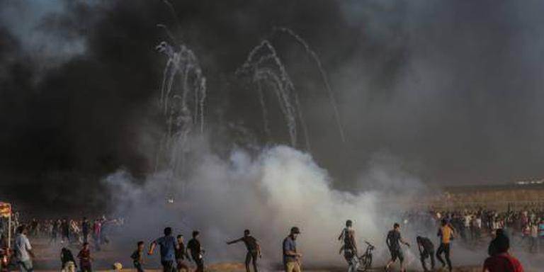 Dode en gewonden bij rellen in Gaza