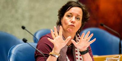 Staatssecretaris Tamara van Ark (Sociale Zaken en Werkgelegenheid). FOTO ANP