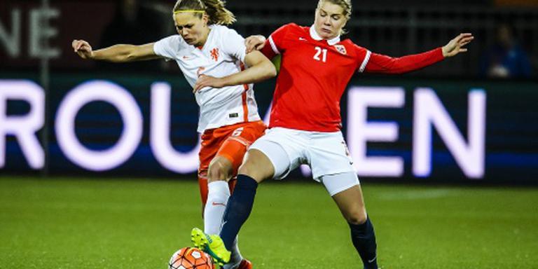 Oranjevrouwen ten onder tegen Noorwegen