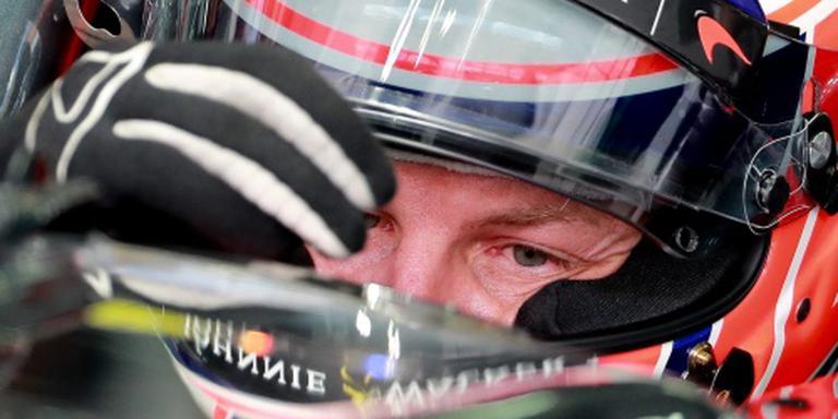 Button start in 300e grand prix