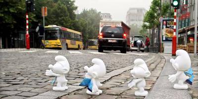 China krijgt Smurfenpretpark