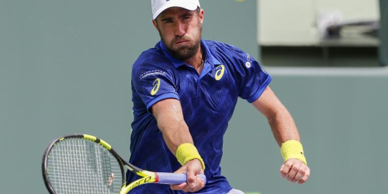 Eerste titel voor tennisser Johnson