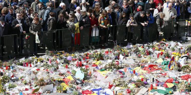 Spontane herdenkingsplek Brussel verdwijnt