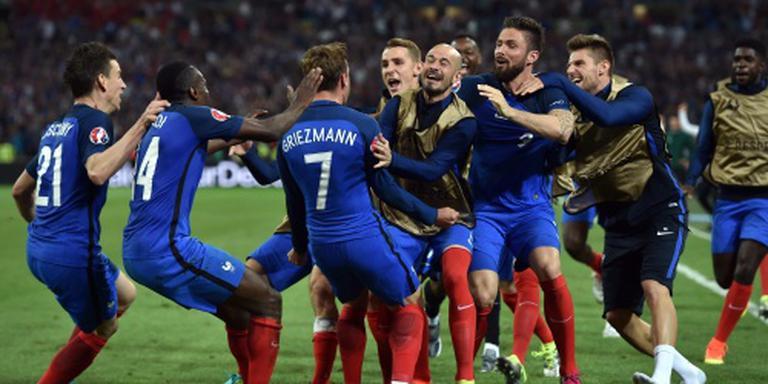 Frankrijk slaat opnieuw in slotfase toe