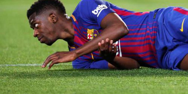 Dembélé knalt Barcelona naar Supercup