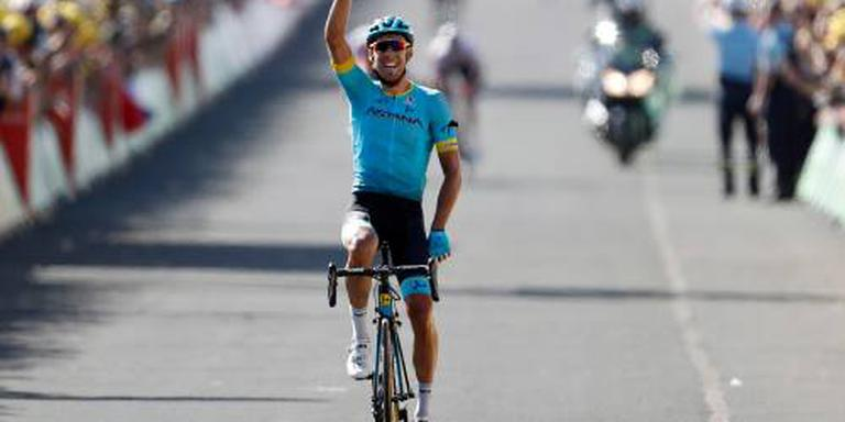 Fraile wint rit in Tour