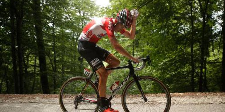 Gehavende Benoot verlaat Tour de France
