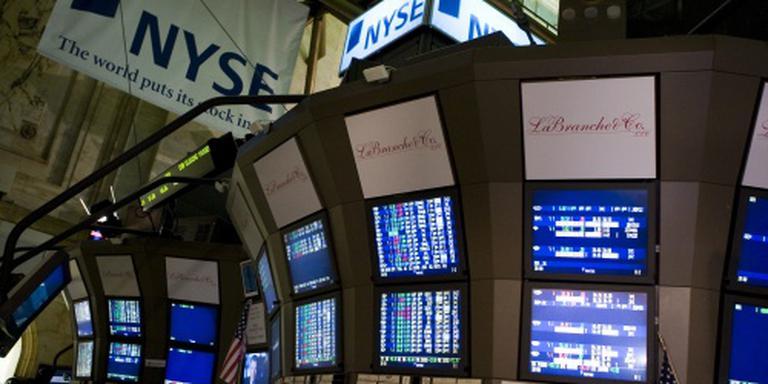 Wall Street opent met kleine winst