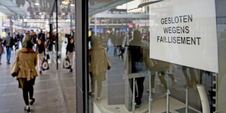 Toename faillissementen in detailhandel
