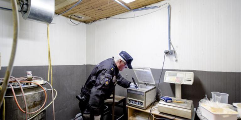 Politie slaat grote slag tijdens drugsactie