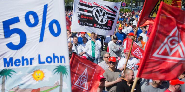 Loonsverhoging voor werknemers Volkswagen