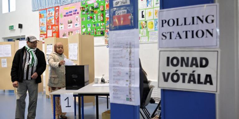 Exit polls: geen meerderheid coalitie Ierland
