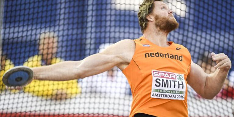 Jarige discuswerper Smith redt Rio niet