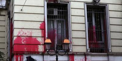 Ambassade Canada in Athene beschadigd