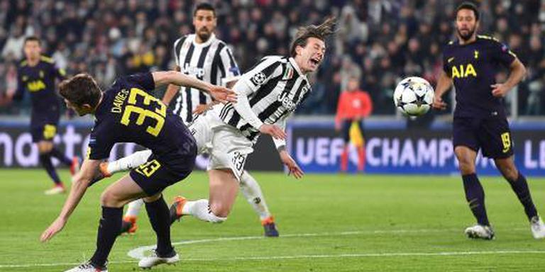 Juventus laat Spurs langszij komen