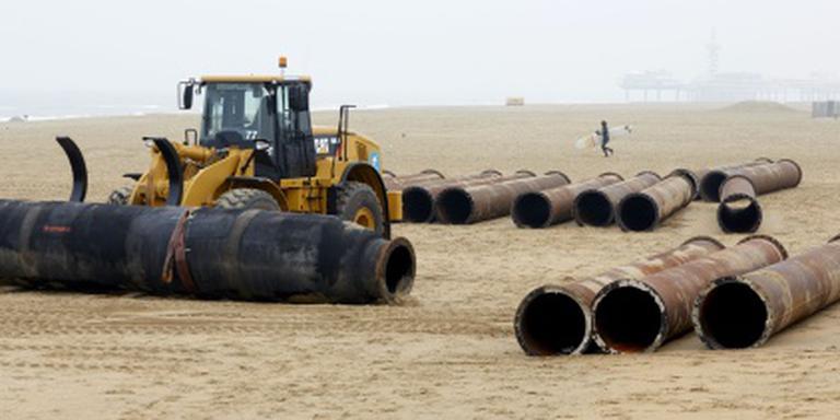 Rijkswaterstaat versterkt kust Zandvoort
