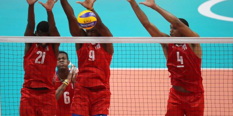 Cubaanse volleyballers vast in Finland