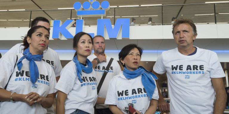 Rechter verbiedt staking grondpersoneel KLM