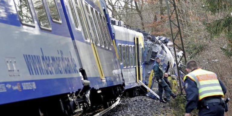 'Treinongeval Duitsland door menselijk falen'