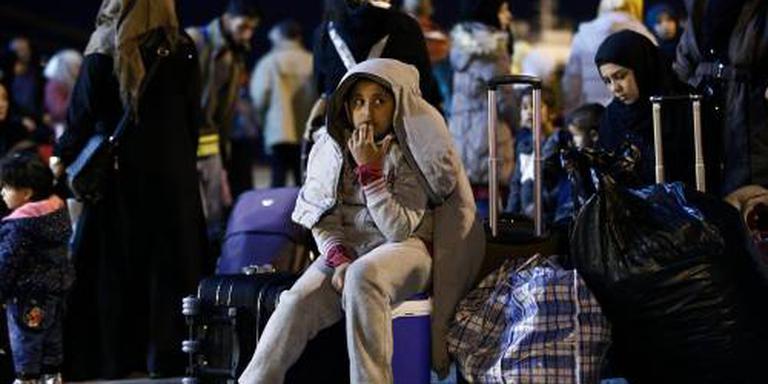 Duizenden migranten weg uit Griekenland