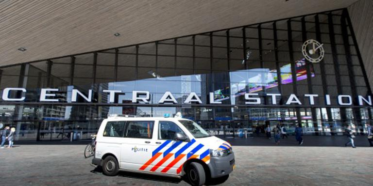 Verwarde man bij Rotterdam CS aangehouden