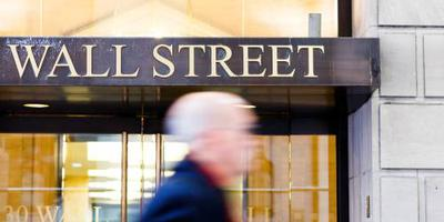 Banken bij verliezers op groen Wall Street