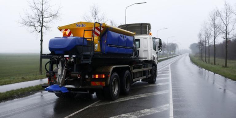 Sneeuw en regen zorgen voor gladde wegen