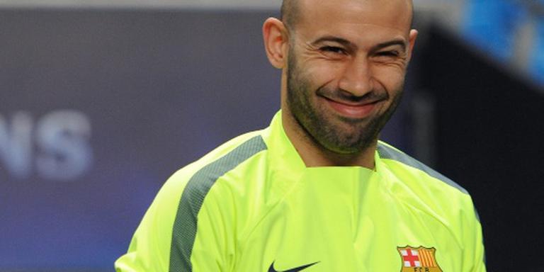 Mascherano langer bij FC Barcelona
