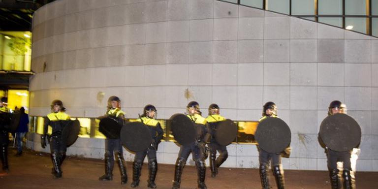 Aanhoudingen bij protest tegen azc in Heesch