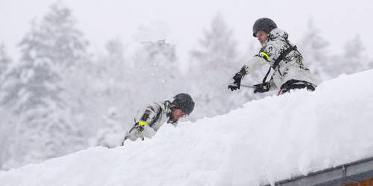 Oostenrijk moet rekenen op meter verse sneeuw