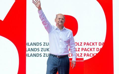 Meeste Duitsers weten al op wie ze gaan stemmen, SPD nog aan kop