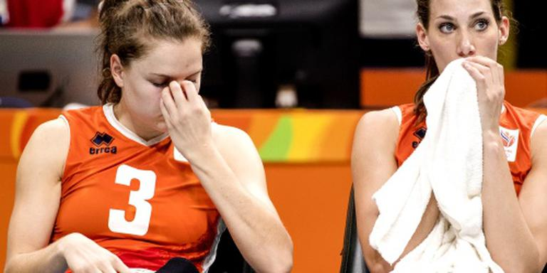 China houdt volleybalsters uit finale