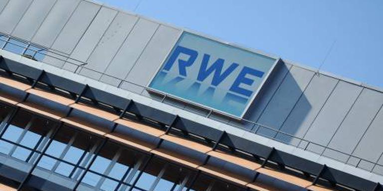 Energieconcern RWE uit de rode cijfers