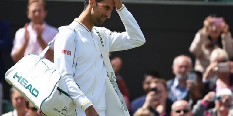 Partij Djokovic weer onderbroken
