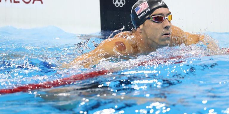 Phelps pakt negentiende goud in Rio