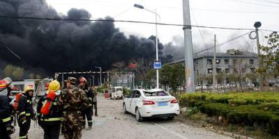 Tientallen doden door explosie Oost-China