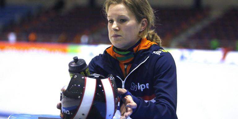 Rianne de Vries: ,,As ik fan tefoaren sjoch tsjin wa't ik ride moat, tink ik al: oh, dy is goed. Of: hee de wrâldkampioene.