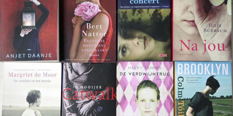 Boekomslagen met foto's van en gemaakt door Mirjan van der Meer.