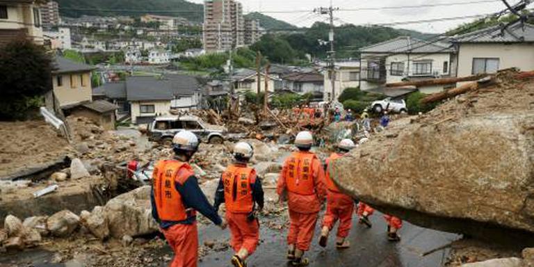 Dodental overstromingen Japan nu boven de 100