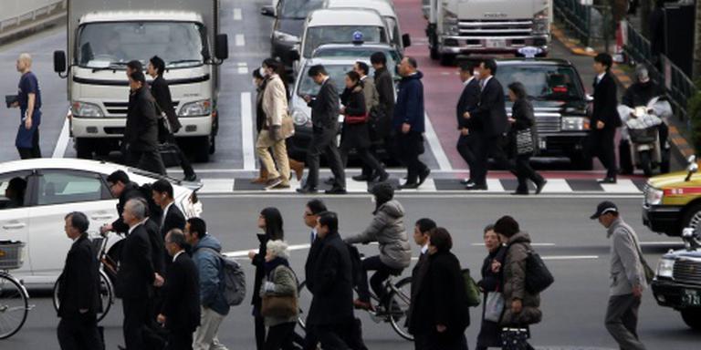 Groei Japanse economie valt sterk terug