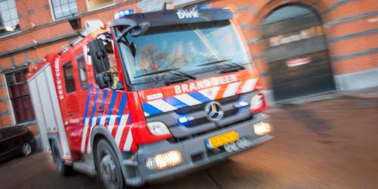 Brand in centrum Gronings dorp Middelstum