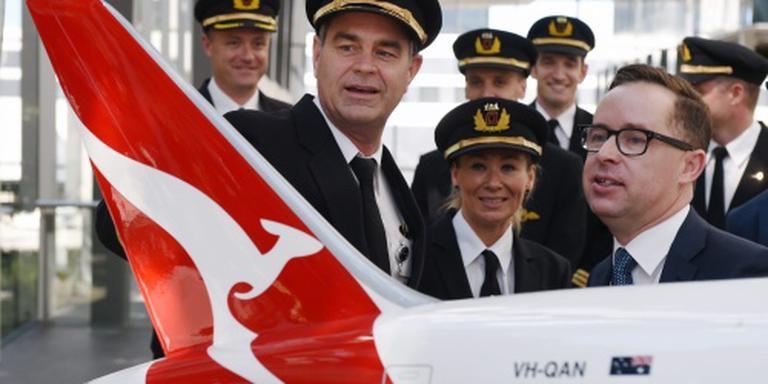 Qantas beloont aandeelhouders na recordjaar