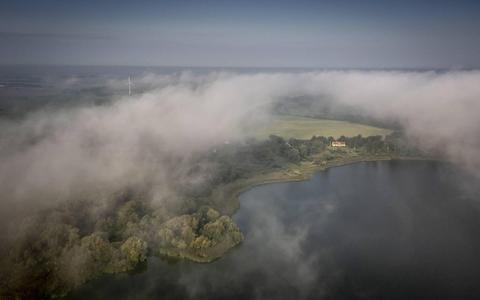Waarschuwing voor dichte mistbanken in deel Nederland