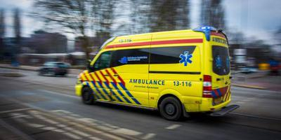 Ook ambulancepersoneel in actie