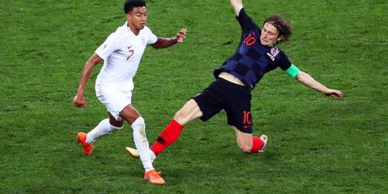 Kroatië verslaat Engeland in halve finale