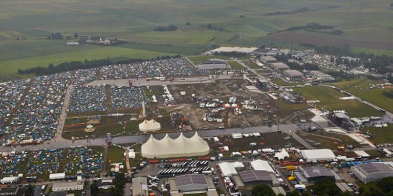 Rock am Ring toch verder na noodweer (2)