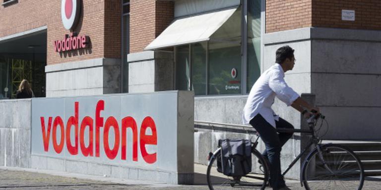 Omzet Vodafone Nederland loopt terug