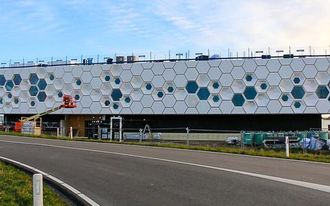 Het Afsluitdijk Wadden Centrum bij Kornwerderzand opent 21 maart 2018.